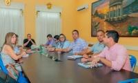Aspecto del consejo de gobierno desarrollado la mañana de este lunes en Ciénaga.