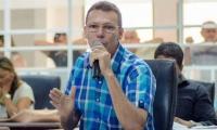 Concejal Leandro Bernier.