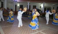 Las danzas del Magdalena y Cesar se tomaron el Centro Cultural San Juan Nepomuceno.