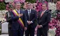 Ceremonia de posesión del presidente Iván Duque este 7 de agosto.