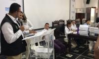 Audiencia para la adjudicación del PAE Magdalena, en la Gobernación.