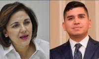Senadora María del Rosario Guerra cuestiona al ministro de Vivienda, Jonathan Malagón.