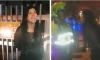 Mujer detenida por conducir ebria.