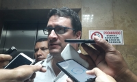Iván Cancino, abogado defensor de Carlos Caicedo.