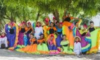 Los niños y las niñas participantes no solo se limitan a bailar cada una de las piezas musicales, sino que también aportaron a la creación de cada uno de los movimientos, siendo este el factor diferencial de este laboratorio.