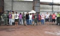 Capturados por procesamiento ilegal de plomo en Zona Bananera.