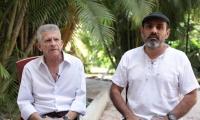 Los negociadores del ELN en los diálogos con el Gobierno colombiano.