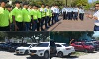 Recientemente la Secretaría de Movilidad sancionó a 27 ciudadanos que estacionaron sus vehículos en la zona peatonal del Parque Bolivariano.