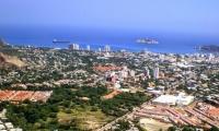 Panorámica del distrito de Santa Marta