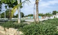 Este es el estado actual del parque de María Eugenia.