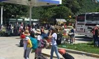 Terminal informal de la Bomba Zuca.
