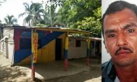 El hombre habría agredido a su esposa dentro de esta humilde vivienda en el sector de La Loma.