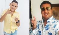 Luis Jesús Charris Torres (izquierda) y Rafael Santos (derecha)