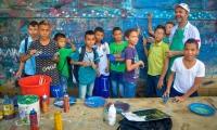 Práctica del teatro, danza, artes plásticas, audiovisuales y fotografía, fusión, coro, vallenato y folclor caribe, podrán encontrar en las escuelas distritales.