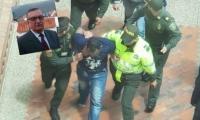 Detención de hombre señalado de asesinar al funcionario Luis Carlos Castillo.