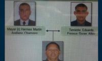 Los policías investigados.