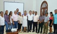 Reunión entre el Alcalde y líderes del sector de Palangana.