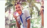 Dairo López Ceballo, estudiante fallecido por una bala perdida.