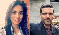 Eileen Moreno y Alejandro García, actores.