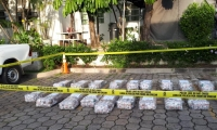 Estos son los 575 kilos de cocaína incautados en El Salvador.