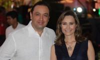 Jorge Alfredo Vargas e Inés María Zabaraín.