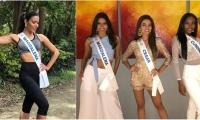 La candidata del departamento del Magdalena al Concurso Rumbo a Miss Universo 2018.