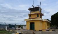 Así luce el aeropuerto Las Flores, ubicado en el municipio de El Banco.