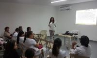 Aspecto de la reunión desarrollada por la ESE San Cristóbal de Ciénaga.