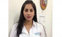 Kathleen Villalba Ruiz, jefe de la oficina de pasaportes de la Gobernación