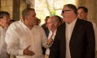 El Presidente de la República, Iván Duque, y el secretario de Estado de Estados Unidos, Mike Pompeo.