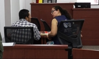 El acusado aceptó el cargo de feminicidio agravado.