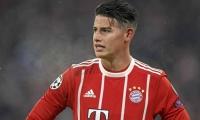 James Rodríguez en el Bayern