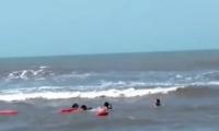 El hecho se registró en las playas de Puerto Colombia