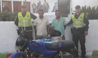Los capturados fueron identificados como Jaider  David García Fontalvo de 33 años y Wilfrido Fontalvo López 30 años.