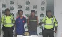 Los capturados fueron identificados como Javier Mauricio Céspedes Becerra y Juan Manuel Rodríguez Verá.