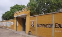 Institución Educativa del corregimiento de La Aguada.