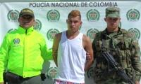 El sujeto fue capturado en Guachaca.