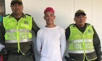 El capturado fue judicializado por el delito de tráfico, fabricación y porte ilegal de armas de fuego o municiones.