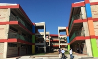 Nueva infraestructura del IED Industrial sede Cundí