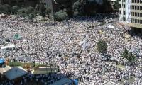 Hace una década, un millón de colombianos salieron a las calles a protestar contra los actos terroristas de las Farc.