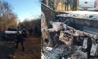 En la camioneta del ganadero fue hallado un cadáver calcinado.
