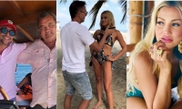Andrés Cepeda y Fanny Lu publicaron imágenes en su cuenta de Instagram