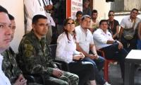 La gobernadora Rosa Cotes ya cuenta con los títulos del lote para la construcción del Batallón de Alta Montaña.