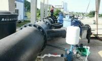 Colector sur de aguas residuales