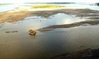 Dramatico nivel de agua en el Río Magdalena