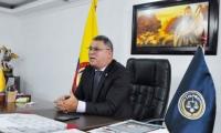 César Augusto Ceballos, director de la cárcel La Modelo de Bogotá