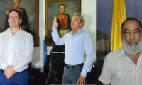 Camilo George, Jaime García Romero y Roberto Munarriz.