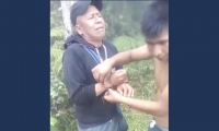 Lider indigena en el Cauca