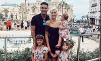 Falcao García y su familia