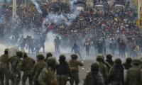 Manifestaciones en Ecuador